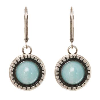 Mojave Small Round Earrings