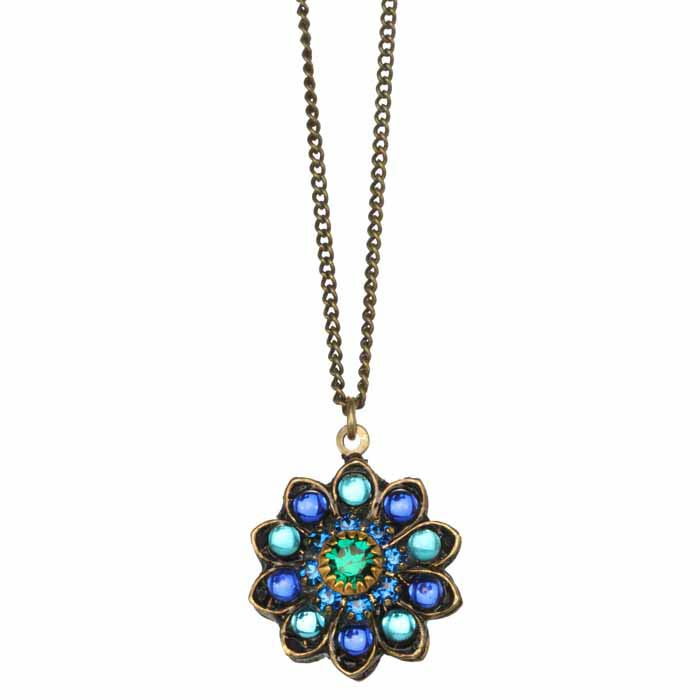 Peacock Bloom Necklace