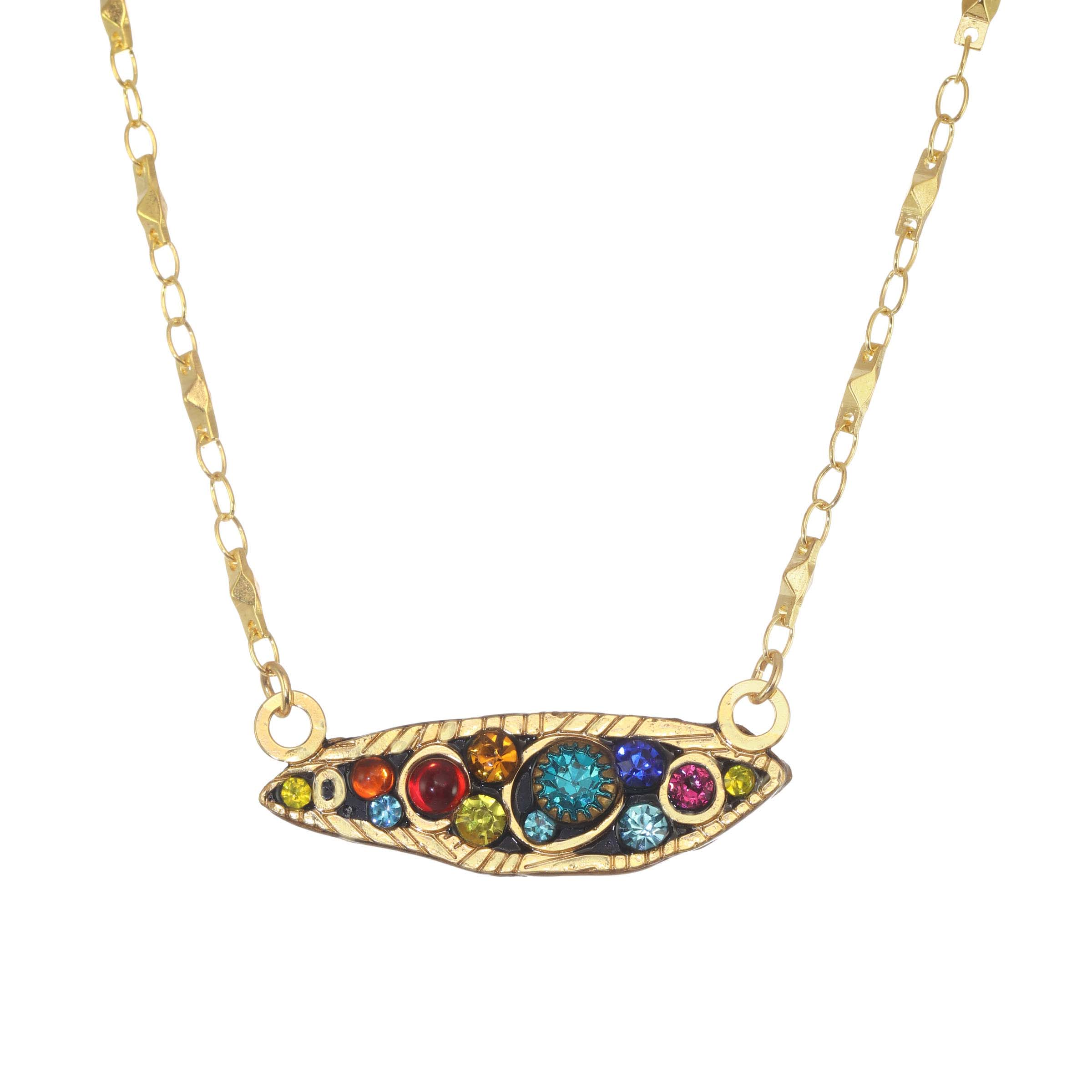 Cosmic Small Comet Necklace