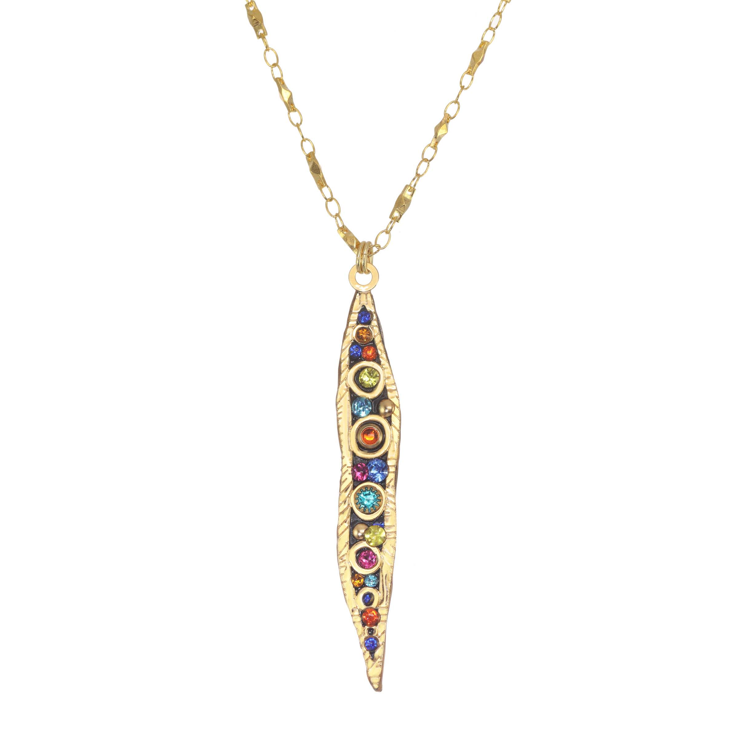 Cosmic Large Comet Necklace