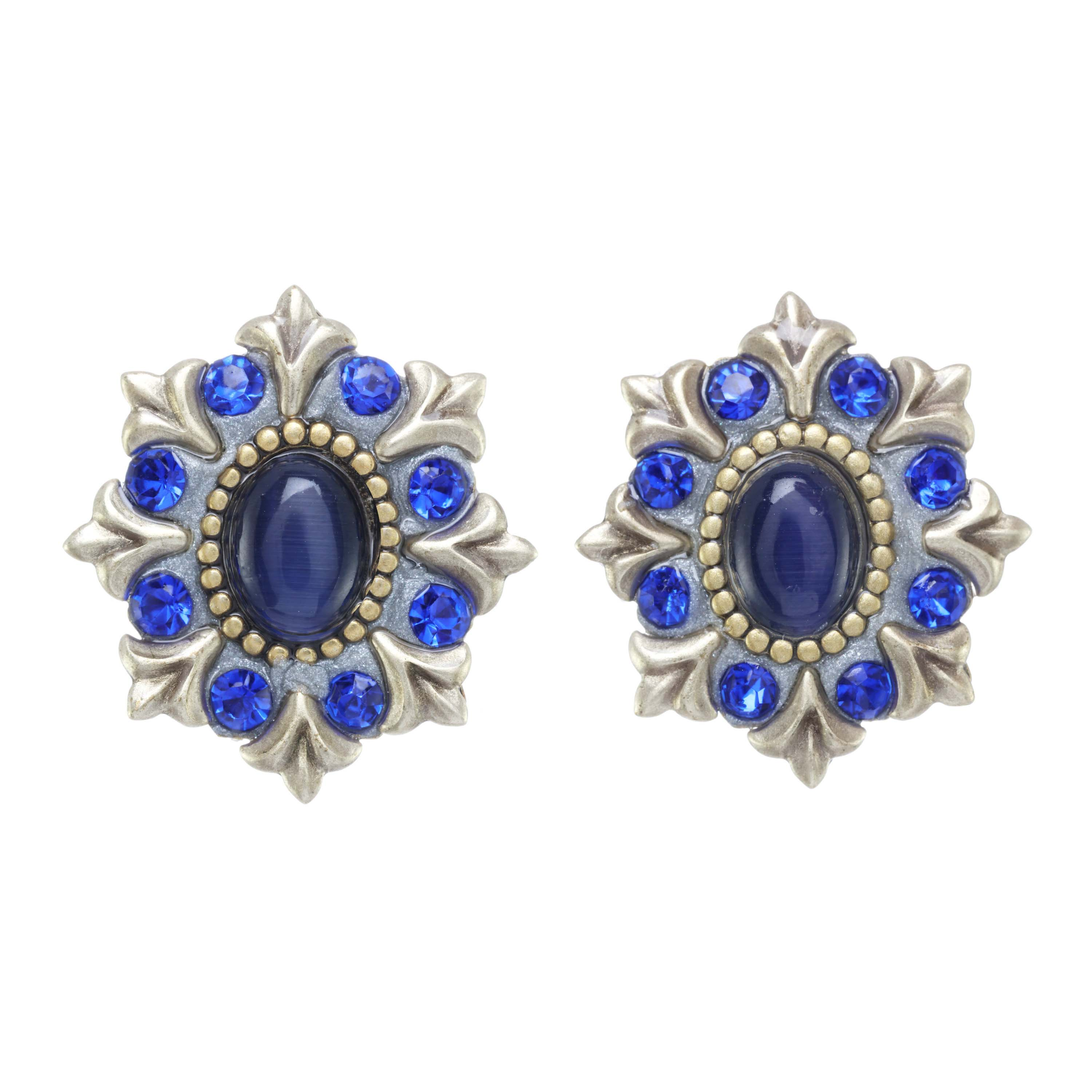 Indigo Burst Earrings