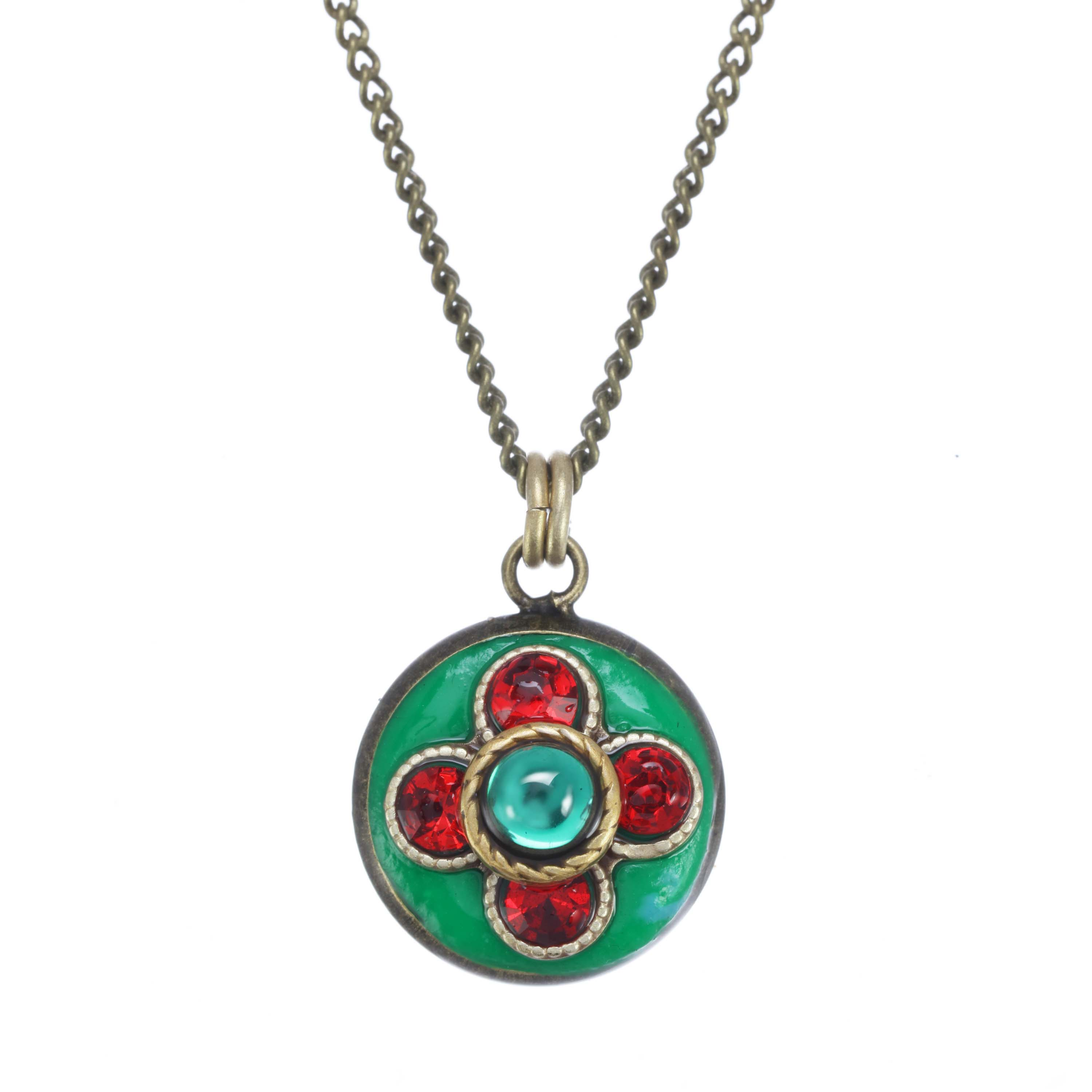 Red and Green Necklace