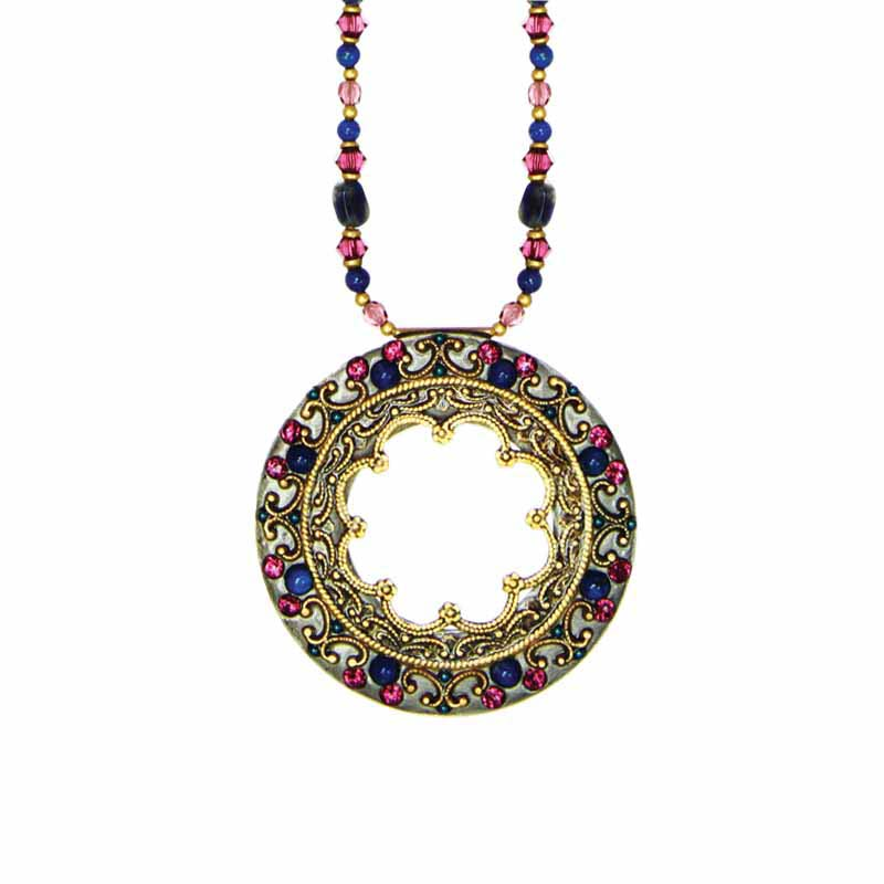 Florence Large Open Circle Necklace