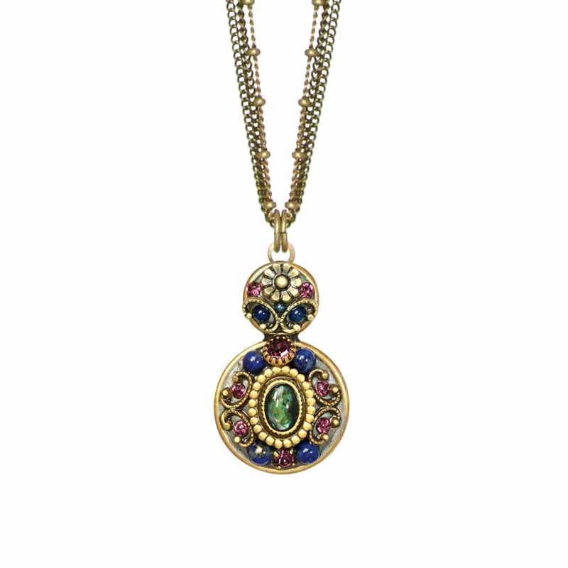Florence Double Circle Necklace