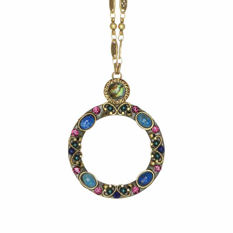 Florence Open Circle Necklace