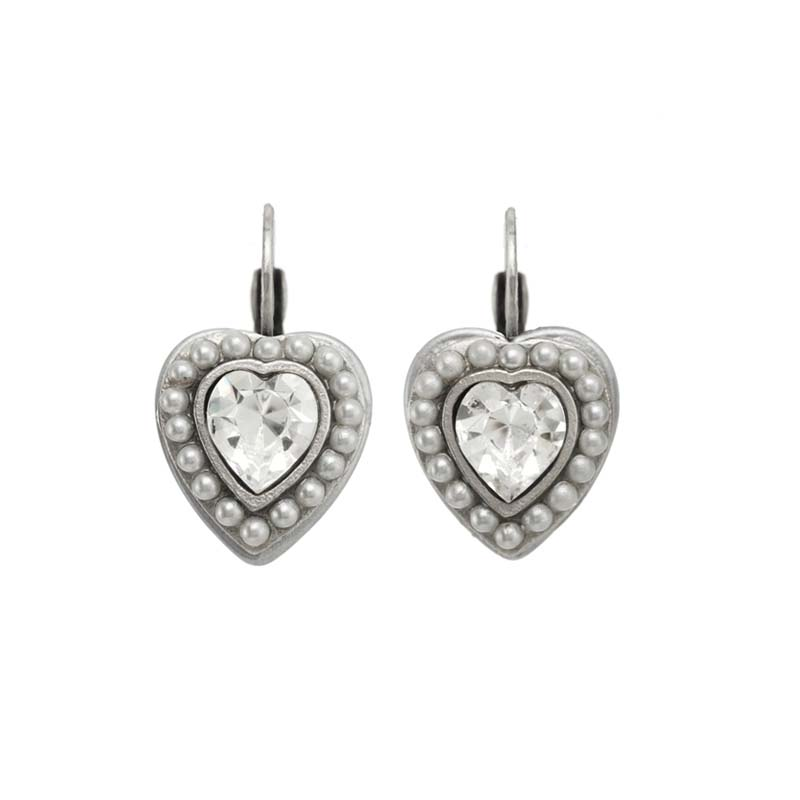 Bridal Heart Earrings