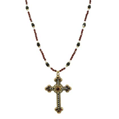 Antique Garnet Cross