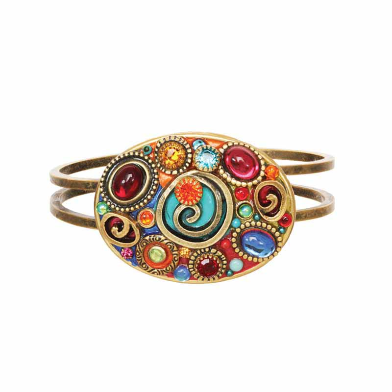 Confetti Oval Bangle