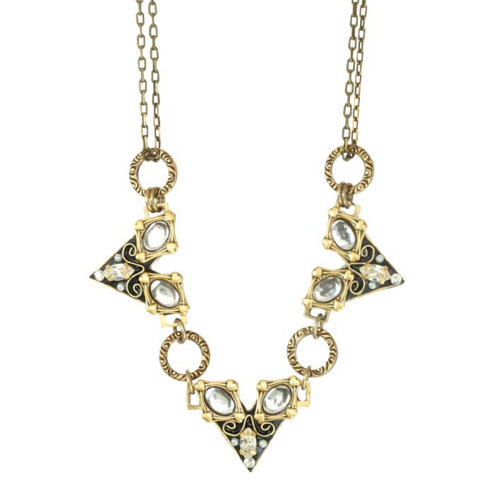 Deco Geometric Necklace