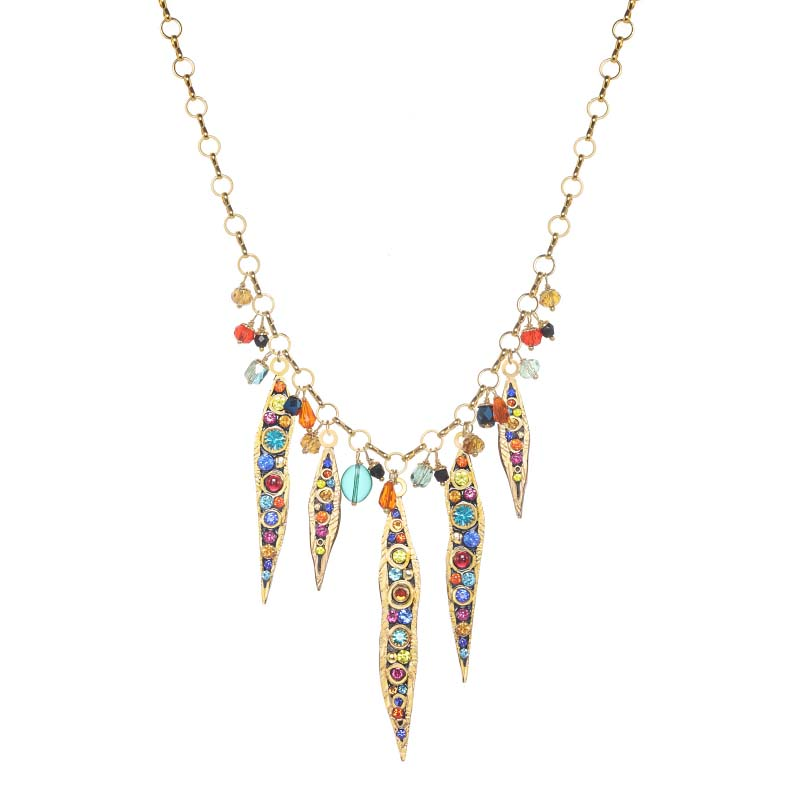 Cosmic Shooting Stars Necklace