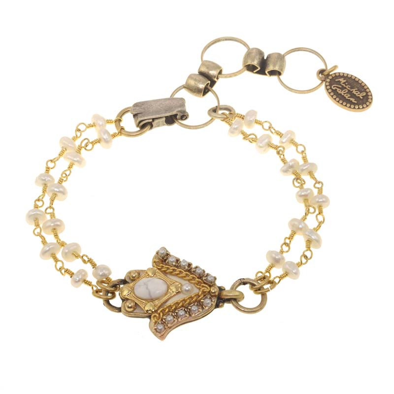 Winter Wonderland Hamsa Bracelet