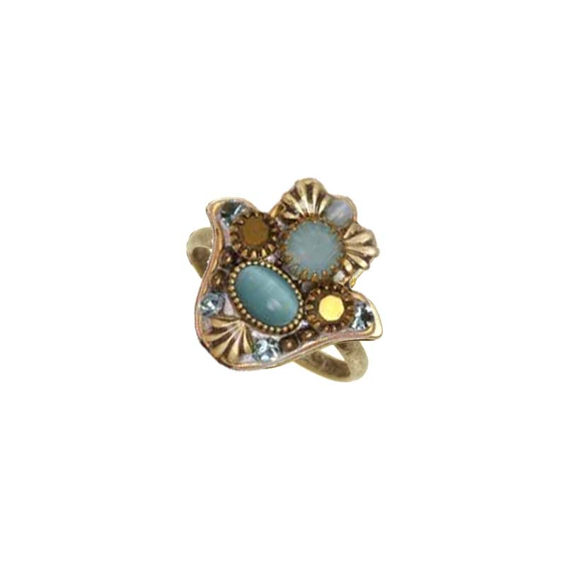 Cat's Eye Hamsa Ring II