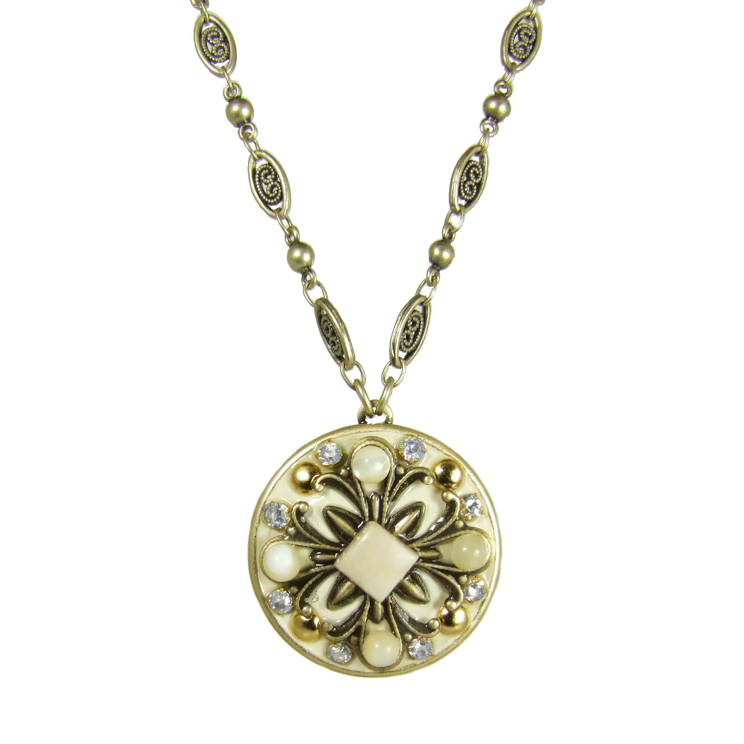 Riverstone Circle Necklace