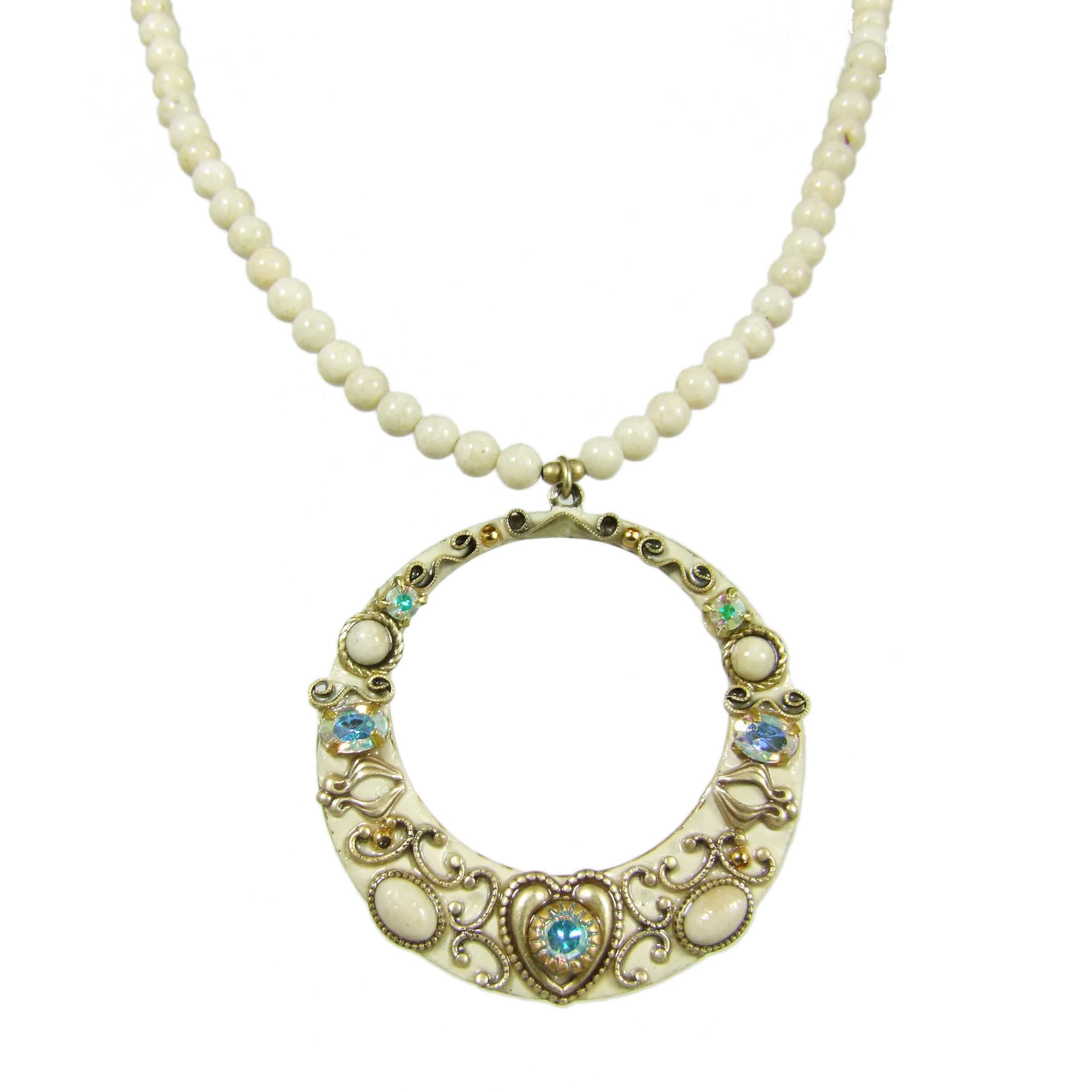 Riverstone Open Circle Necklace