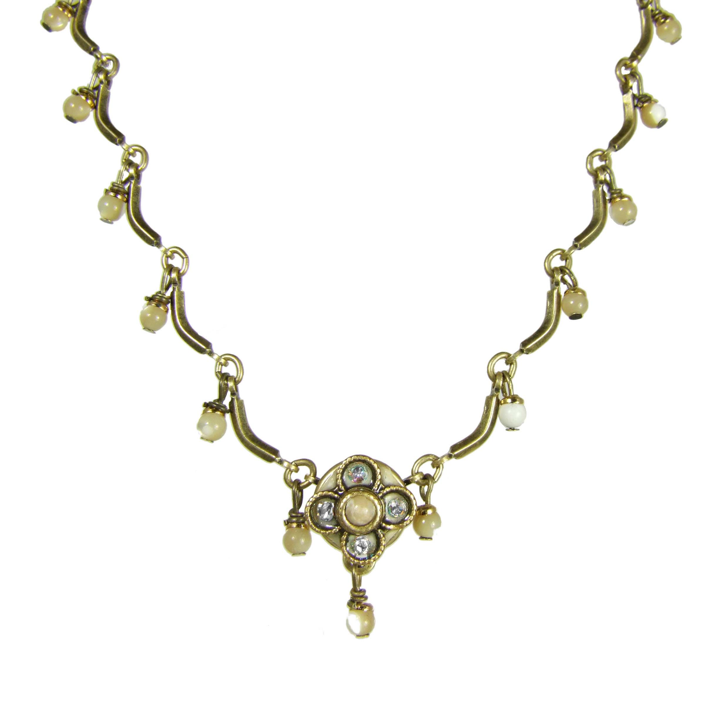 Riverstone Scalloped Necklace
