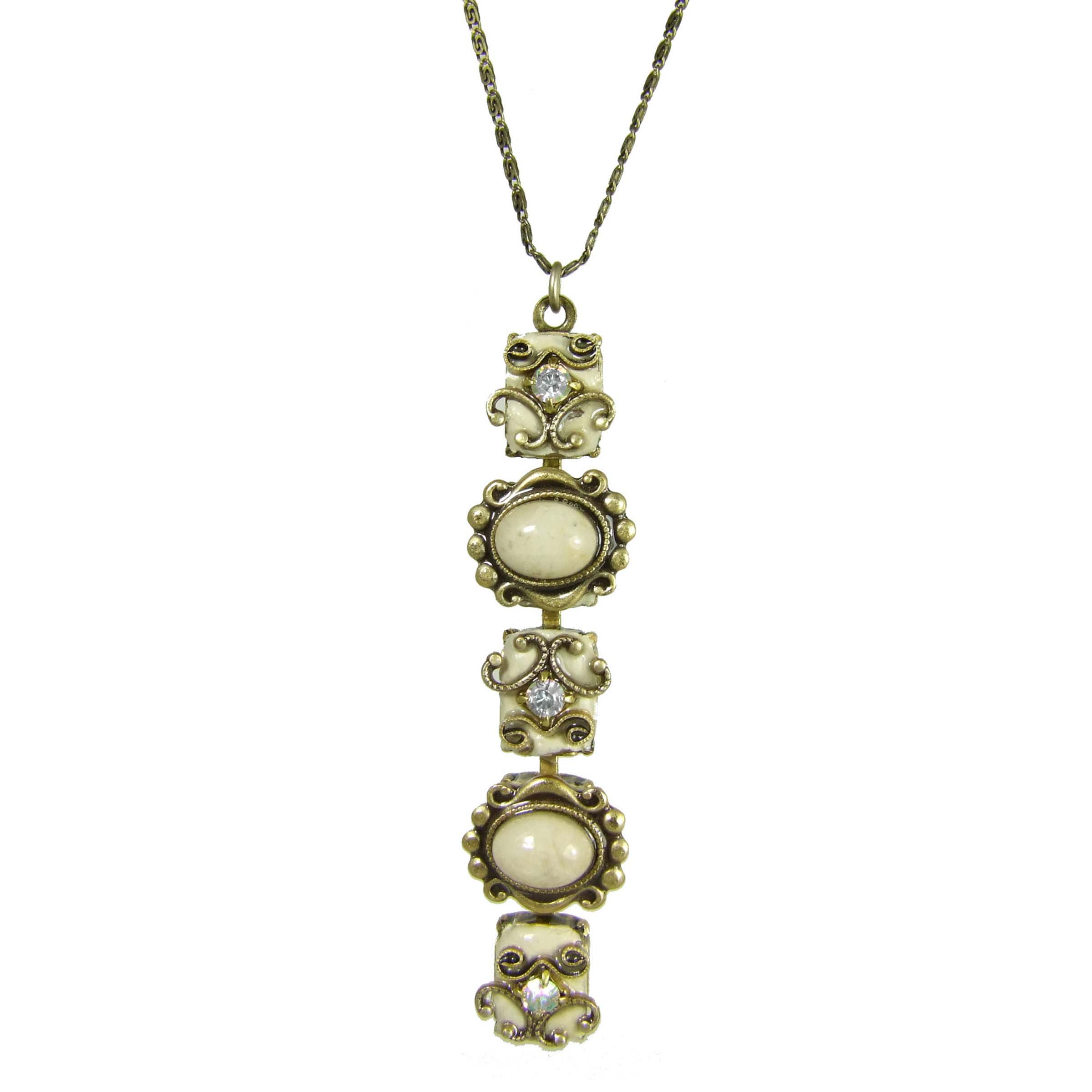 Riverstone Bar Necklace