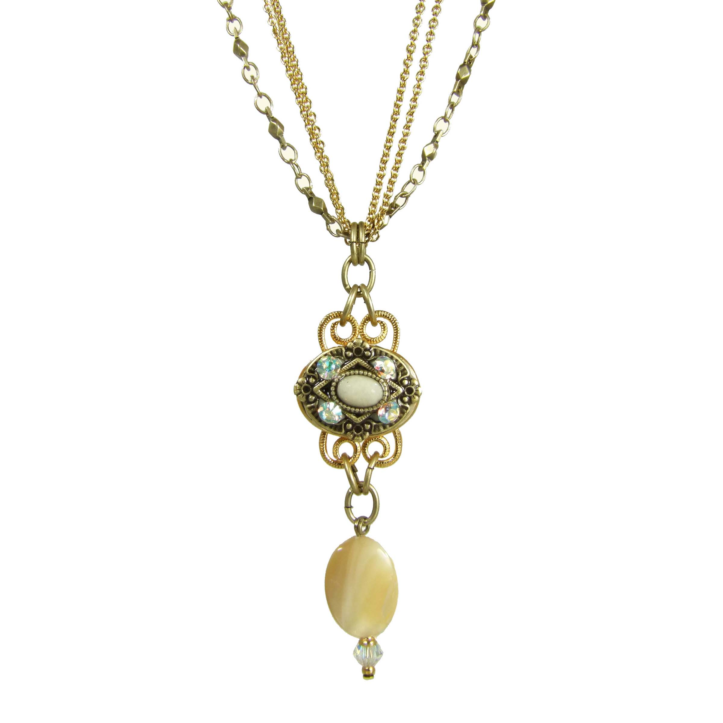Riverstone Charm Necklace