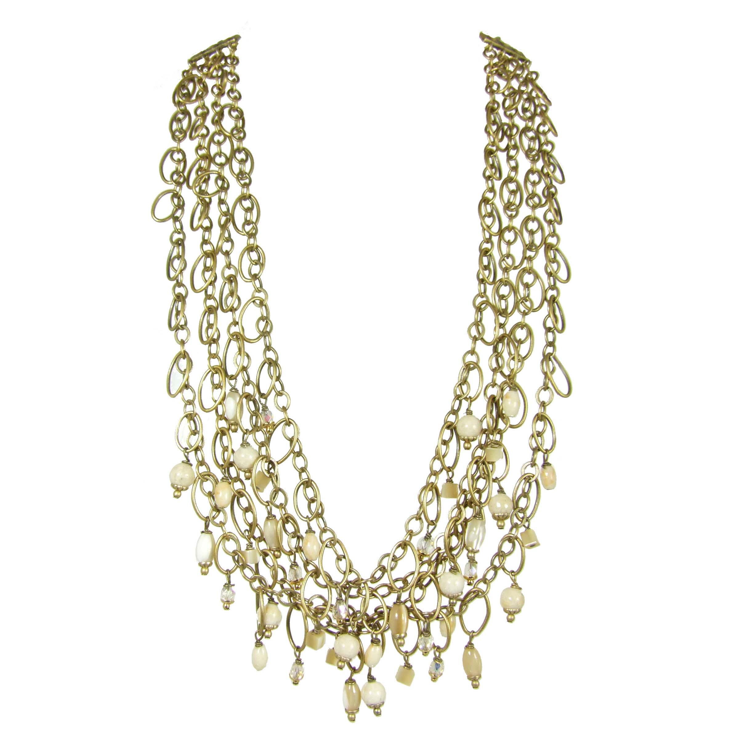 Riverstone Beaded Necklace