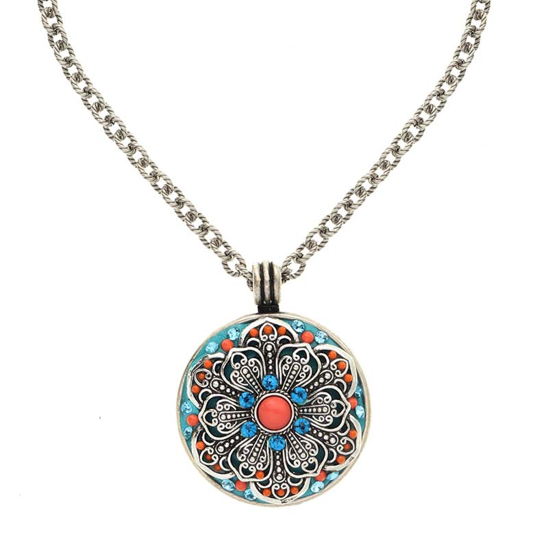 Aruba Large Medallion Necklace