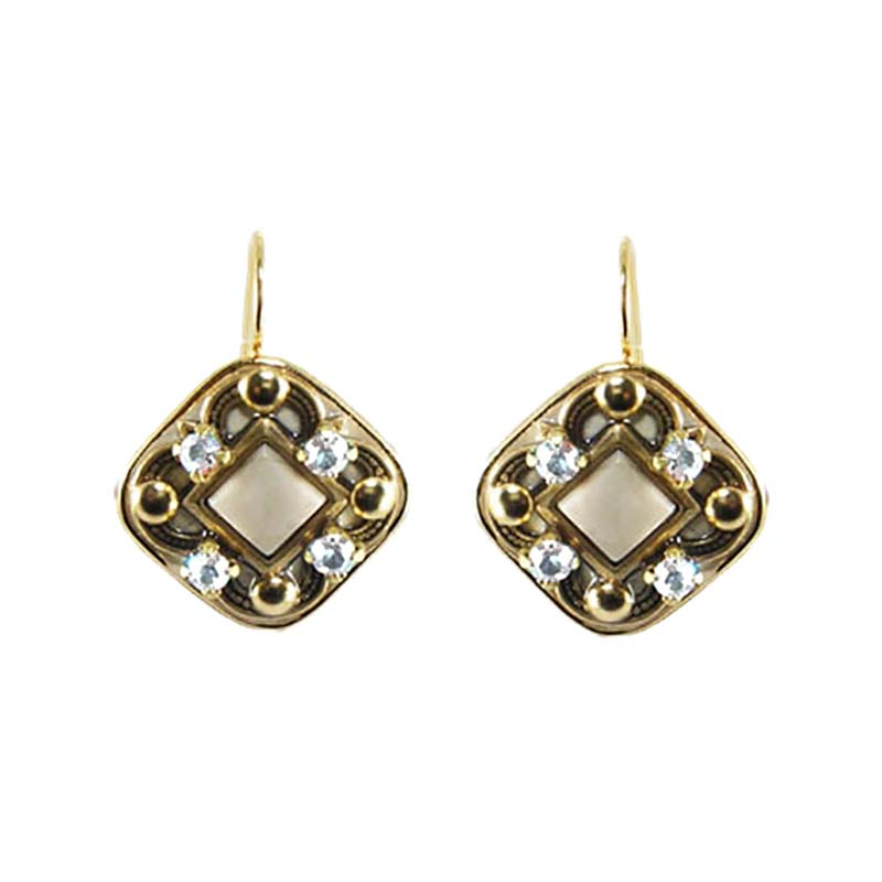 Riverstone Diamond Earrings