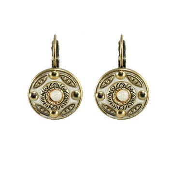 Riverstone Small Circle Earrings