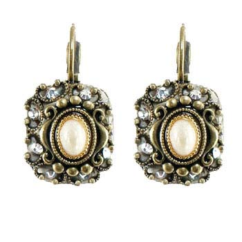 Riverstone Square Earrings