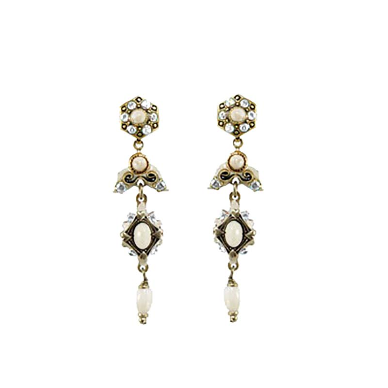 Riverstone Long Dangling Earrings