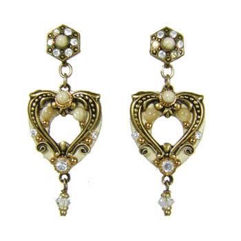 Riverstone Open Heart Earrings