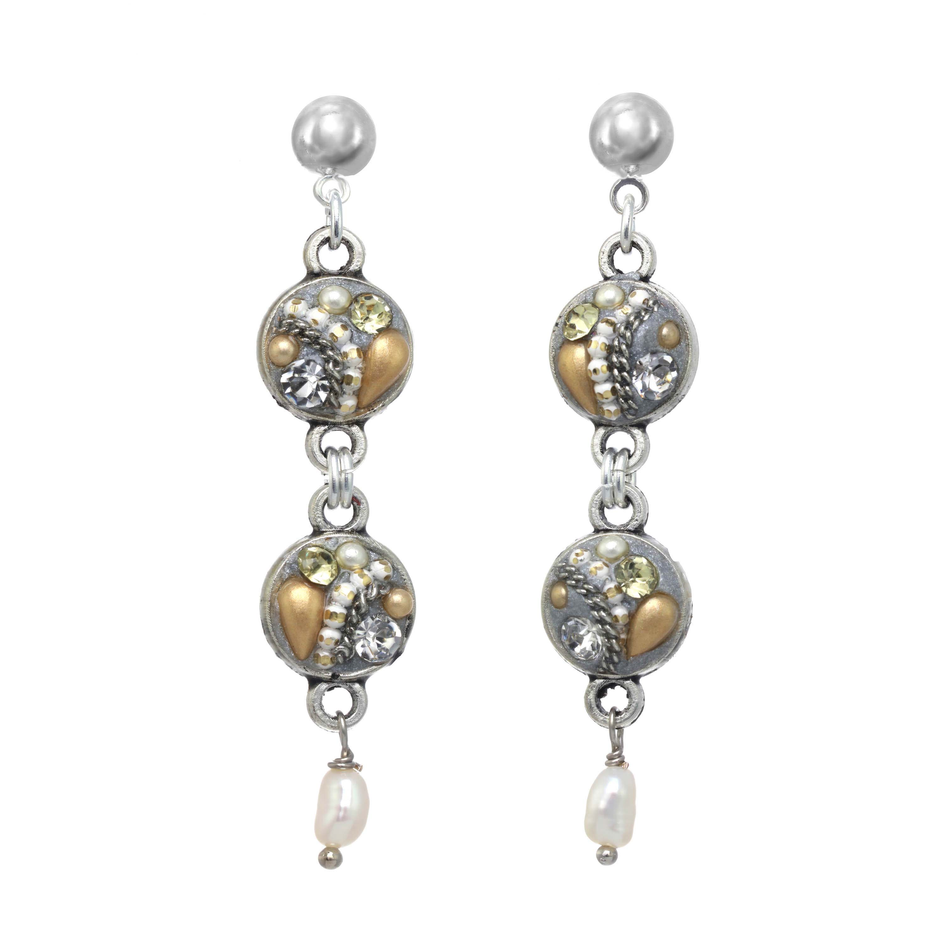 Moonlight Dangling Earrings