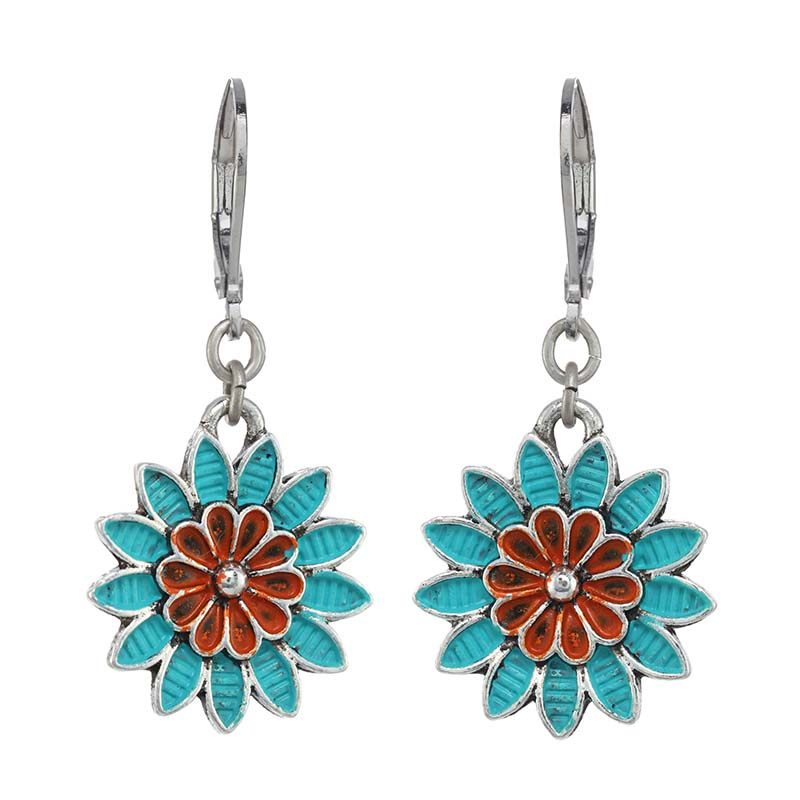 Aruba Small Flower Earrings