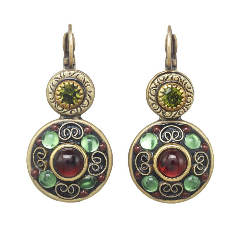 Enchanted Double Circle Earrings
