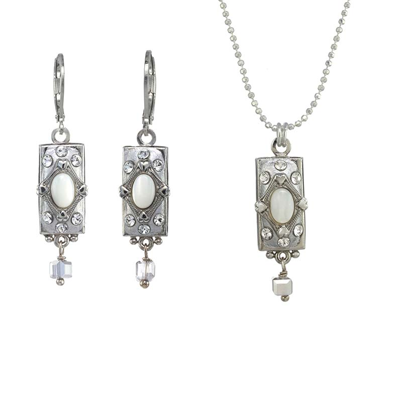 Mother of Pearl Bar Set