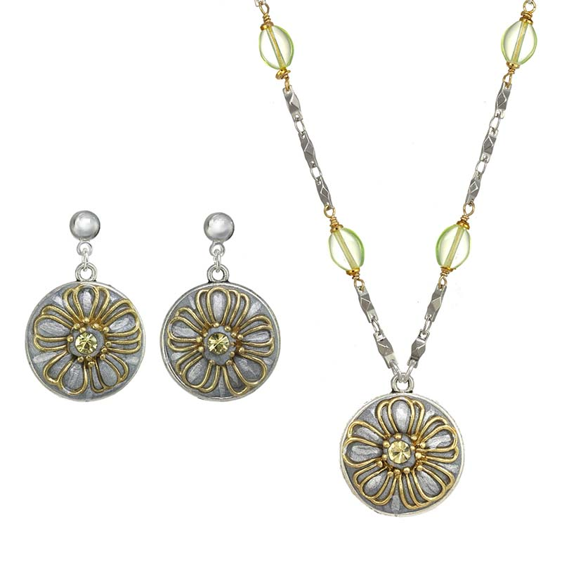 Enchanted Necklace & Earrings Set