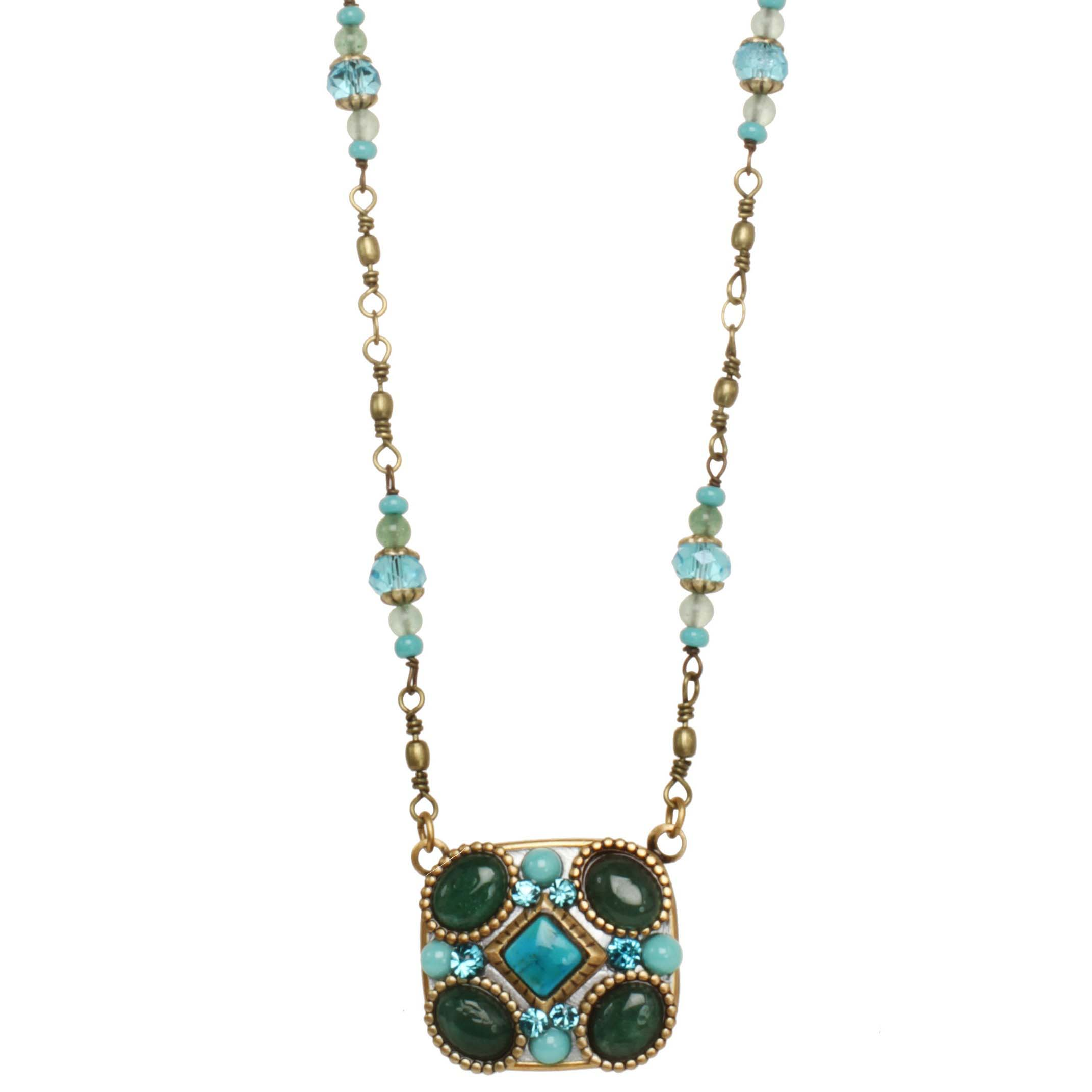 Nile Square Necklace