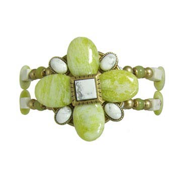 Key Lime Flower Bracelet