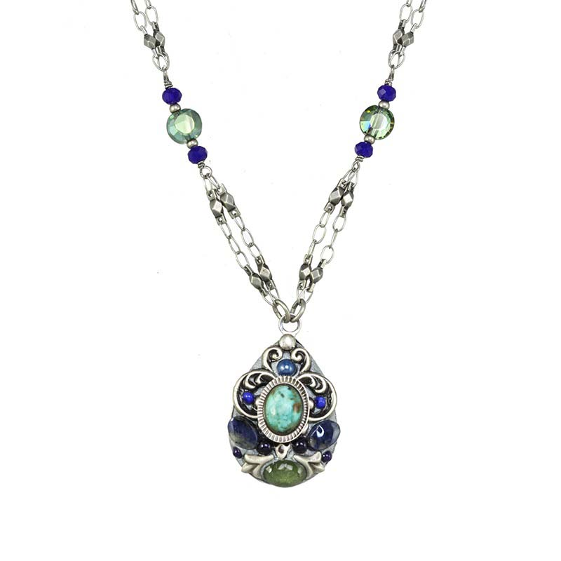 Lake Como Teardrop Necklace