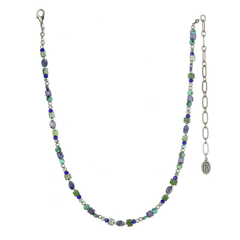 Lake Como Beaded Necklace