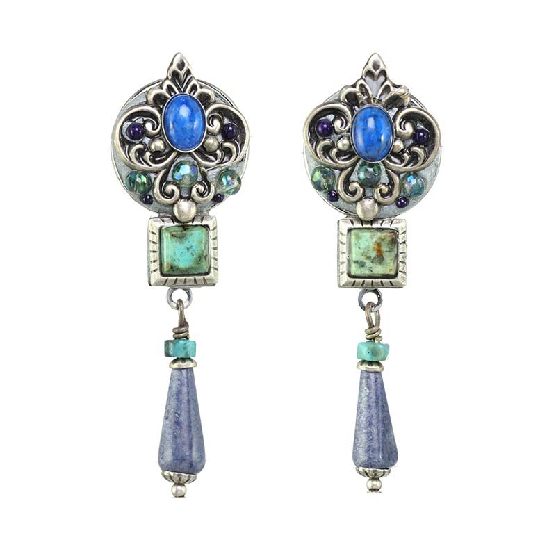 Lake Como Dangling Earrings