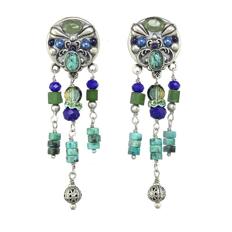 Lake Como Chandelier Earrings