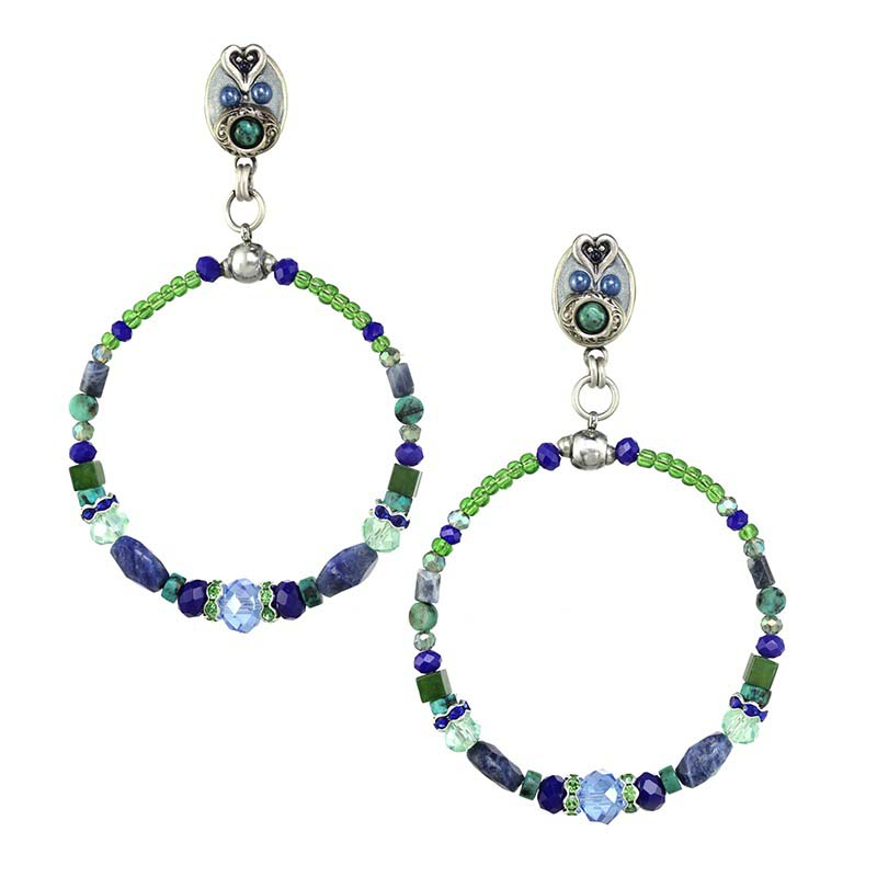 Lake Como Hoop Earrings