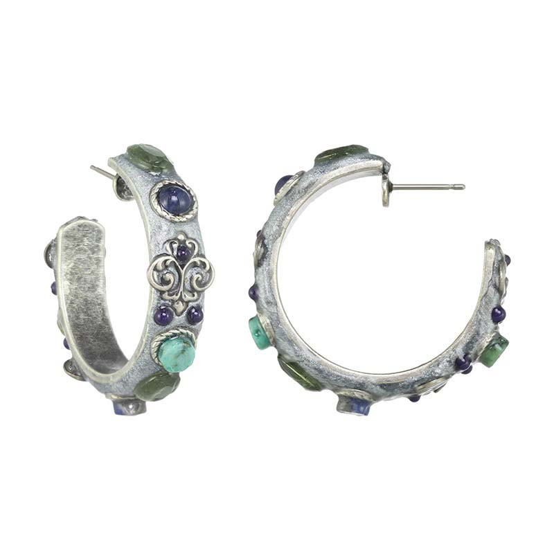 Lake Como Mini Hoop Earrings