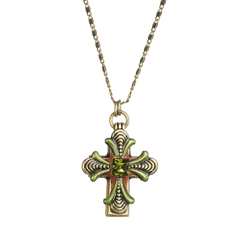 Arcadia Cross Necklace