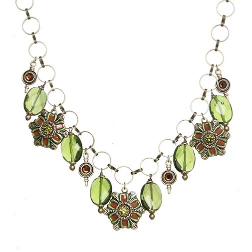 Arcadia Multi Charm Necklace