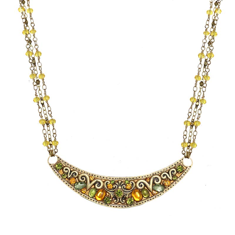 Arcadia Crescent Necklace