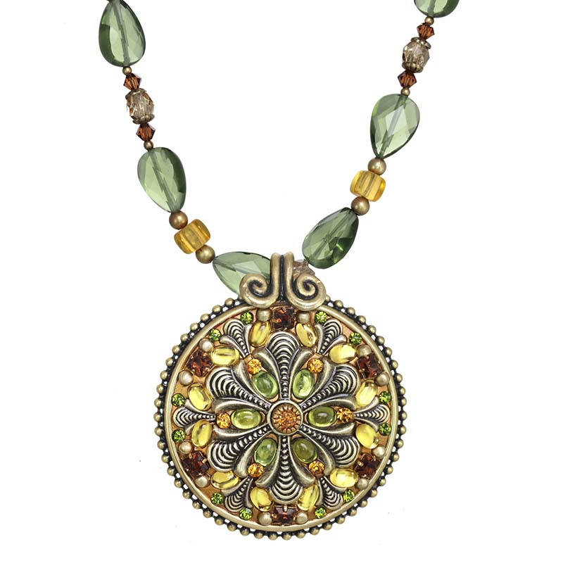 Arcadia Medallion Necklace
