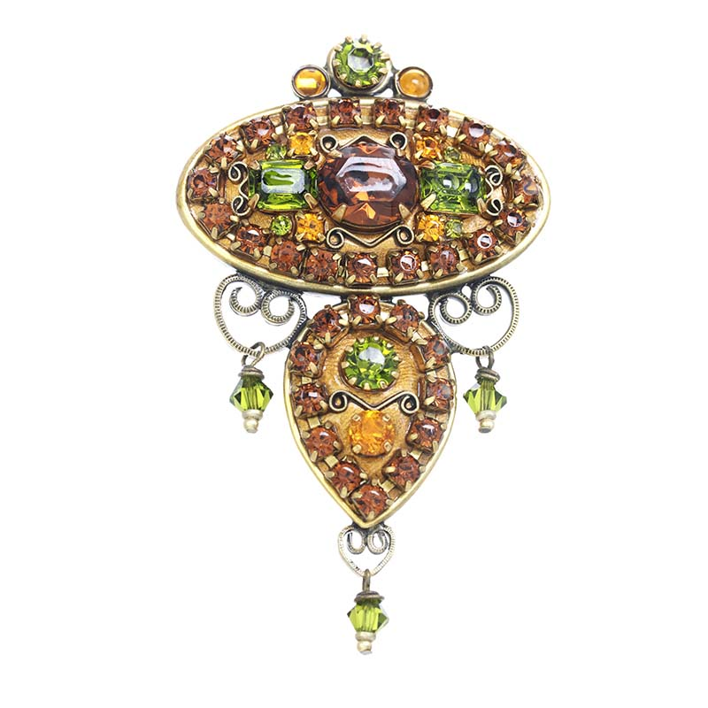 Arcadia Ornate Brooch
