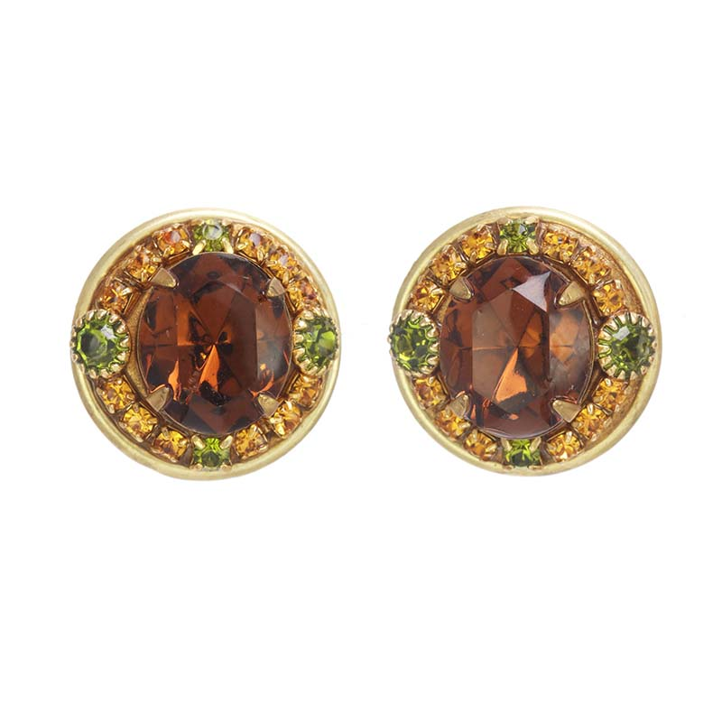 Arcadia Circle Earrings