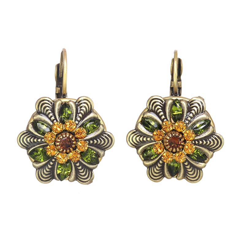 Arcadia Flower Earrings