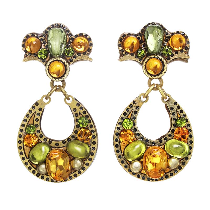 Arcadia Open Circle Earrings