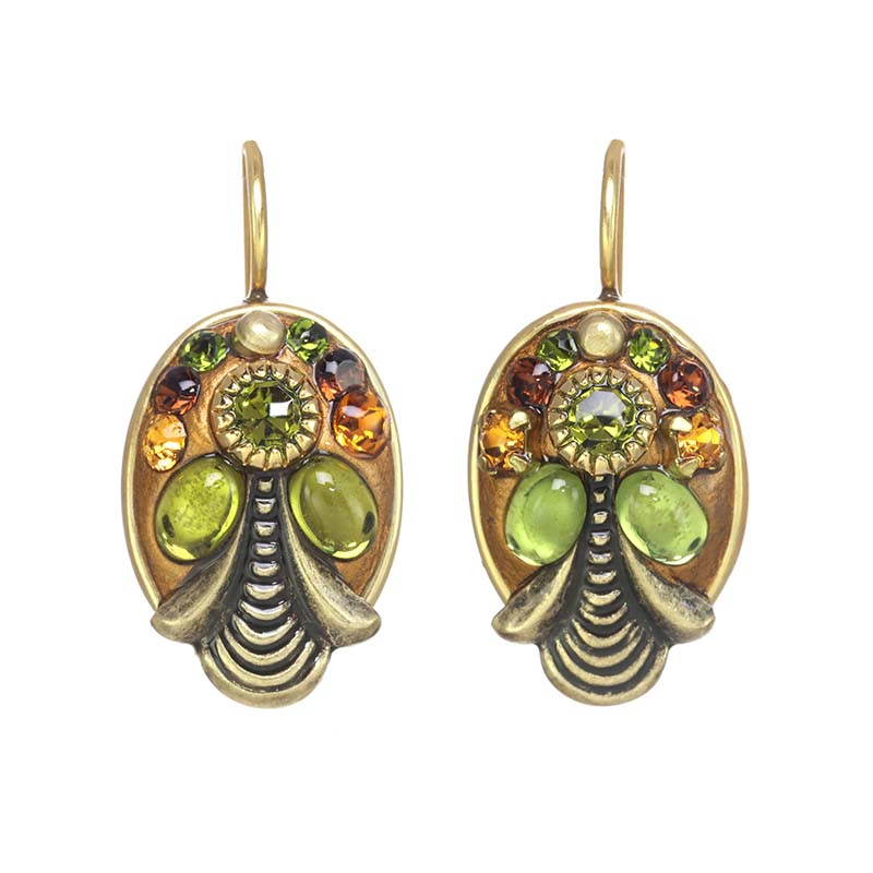 Arcadia Oval Earrings
